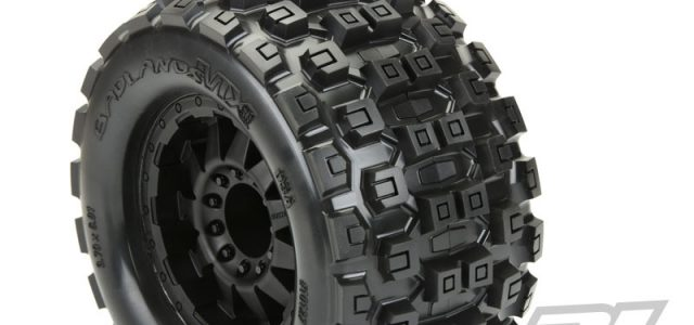 "Pro-Line Pre-Mounted Badlands MX38 3.8"" Tires"