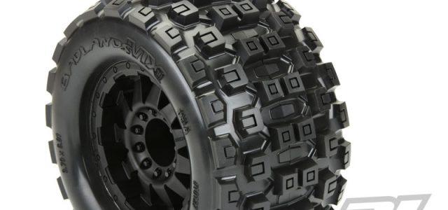 "Pro-Line Pre-Mounted Badlands MX38 3.8"" Tires"