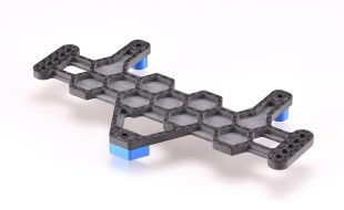 RDRP Carbon Fiber Battery Plate For The AE B6/B6D