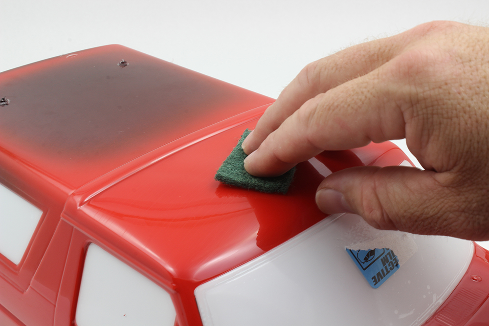 how to get paint scuff off car