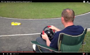 Video Game Steering Wheel Control [VIDEO]