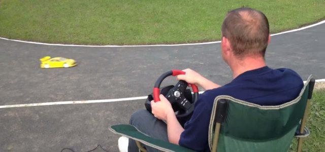 Video Game Steering Wheel Control [VIDEO]