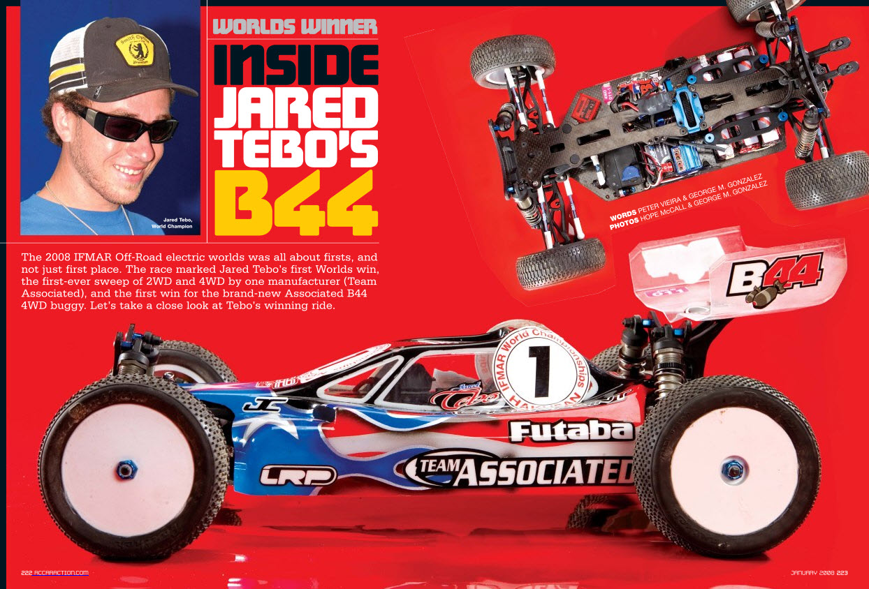 Jared Tebo Team Associated B44 IFMAR Worlds