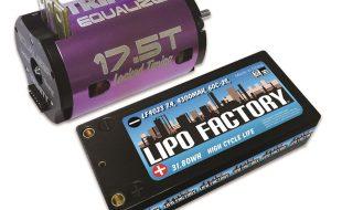 Trinity Equalizer Equation Spec Motor & LiPo Combo