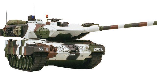 VS Tank 1/24 Leopard 2 A6 Winter & Tiger 1 Late Desert