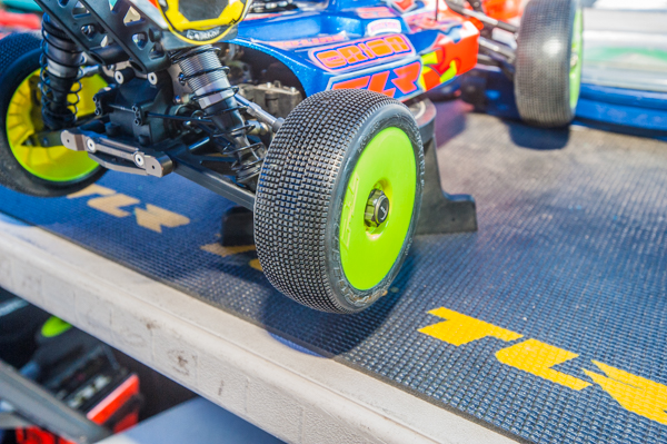 Pro-Line tires in M3 compound has been his choice for this event, although he has tried other tread patterns and compounds depending on conditions.