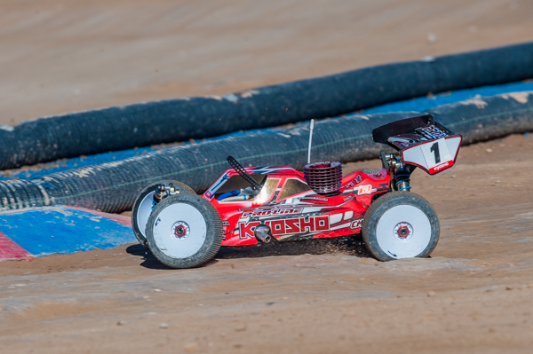 Kyosho's Elliott Botts has been putting on an impressive performance.