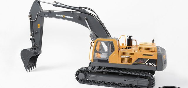 Earth Digger RTR 1/14 360L Hydraulic Excavator [VIDEO]