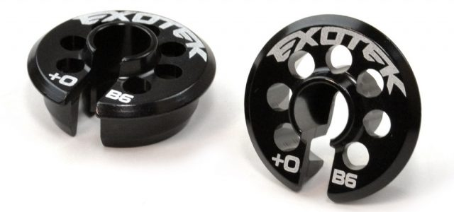 Exotek +5 And +0 Spring Cups For The AE B6/B6D