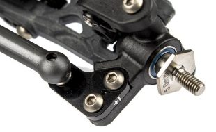 FT Steering Blocks Arms & Hard Side Rails For The AE B6