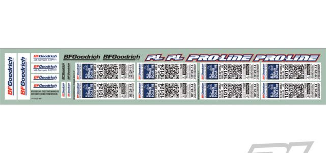Pro-Line Scale Tire Decals