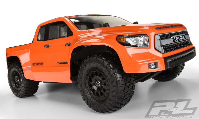 pro line toyota tundra trd pro true scale clear body rc car action. Black Bedroom Furniture Sets. Home Design Ideas