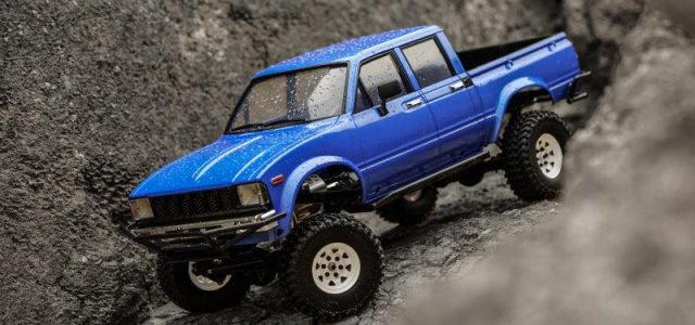 RC4WD Trail Finder 2 Truck Kit LWB & Mojave II 4 Door Body