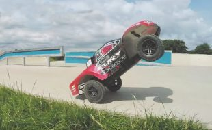 Watch This ARRMA Fury BLX Shred a Skatepark [VIDEO]