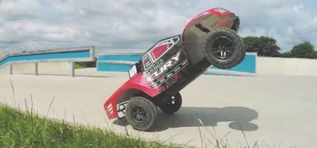 Watch This ARRMA Fury BLX Shred a Skatepark [VIDEO]