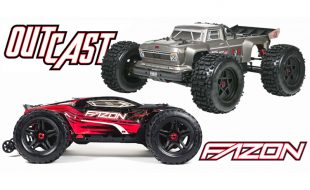 We've Got ARRMA's new OUTCAST and FAZON