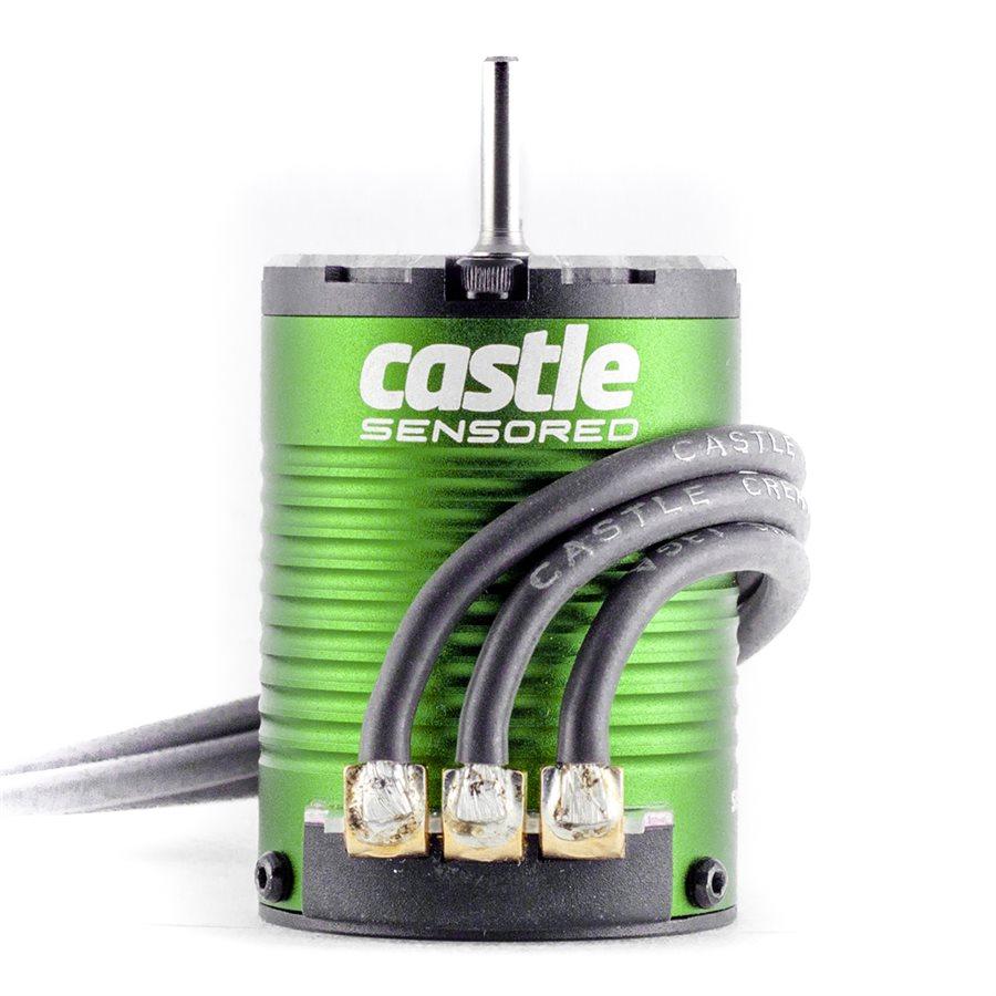 Castle creations sensored brushless motors video rc for Are brushless motors better
