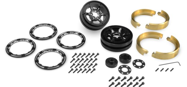JConcepts Torch Beadlock Wheels & Brass Weights Set