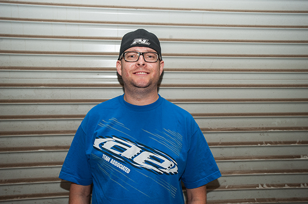 Team Associated's Jesse Granat likes to go out of his way to help others.