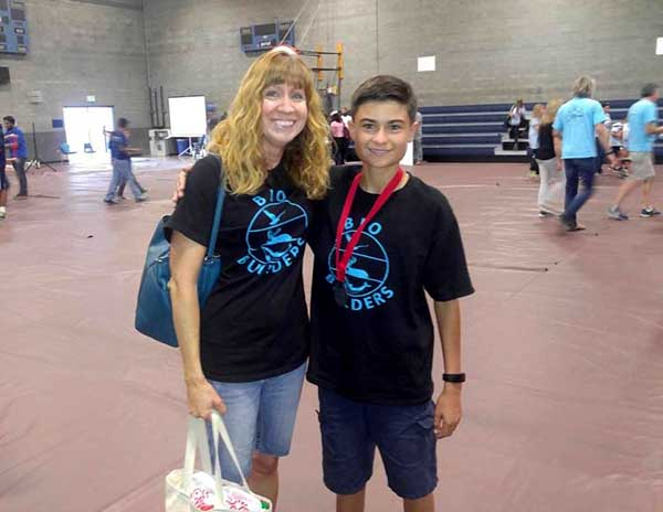 Joey and his Mom are passionate about RC and they both can be seen regularly at Roadrunners R/C Club.