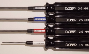 MIP Limited Edition Black Handle Metric Hex Driver Set