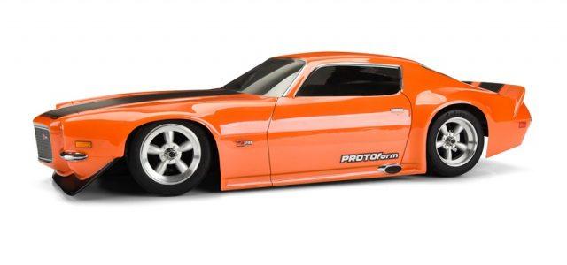 Protoform 1971 Chevrolet Camaro Z28 Clear Body Rc Car Action