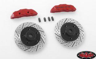 RC4WD Baer Brake Systems Rotor & Caliper Set
