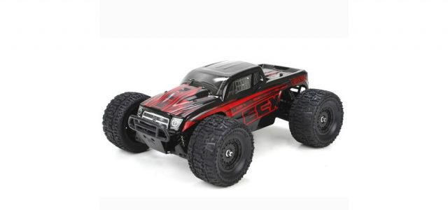 ECX RTR Ruckus 1/18 4WD Monster Truck With New Body