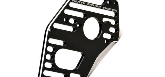 Exotek D216 Black Flite Motor Plate