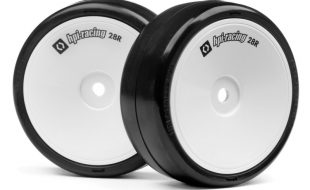 HPI Challenge 28R Pre-Mounted Wheel And Tire