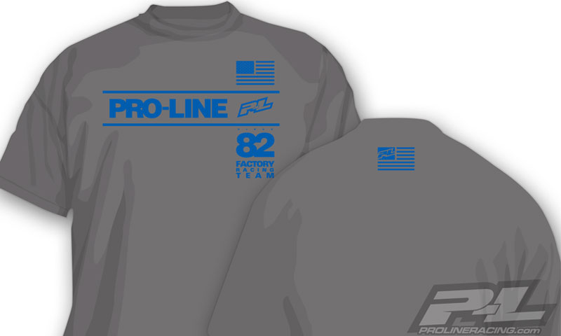 pro-line-factory-team-gray-t-shirt