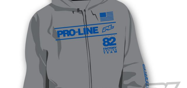 Pro-Line Factory Team Gray Zip-Up Hoodie