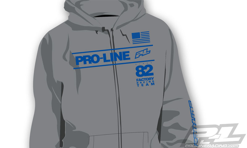pro-line-factory-team-gray-zip-up-hoodie