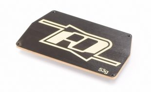 RDRP B6 Brass Electronic Mounting Plate