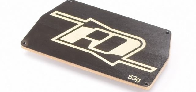 RDRP B6 Brass Electronic Mounting Plate