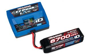 Traxxas Announces Bluetooth 100W EZ-Peak iD Charger & New 4S Packs