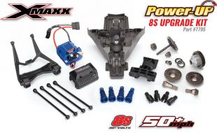 Traxxas Announces 8S POWER-UP KIT for X-Maxx