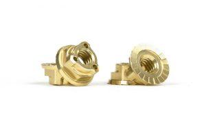 Avid Gold Triad M4 Light Wheel Nuts