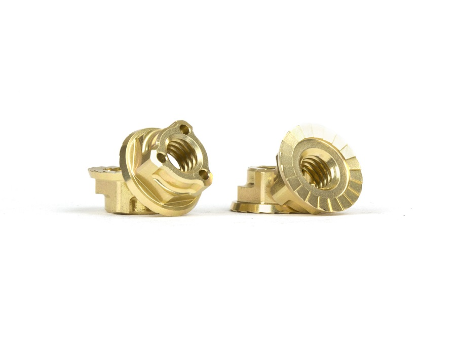 Avid Gold Triad M4 Light Wheel Nuts