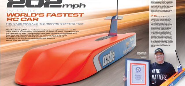Here's What It Takes To Break 200mph With an RC Car