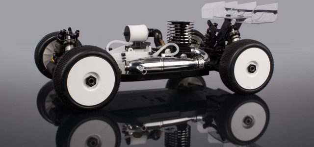 HB Racing D817 1/8 4wd Off-Road Nitro Buggy