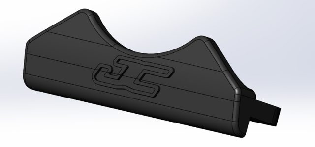 JConcepts Team Associated B6 And B6D Rear Thumb Bumper