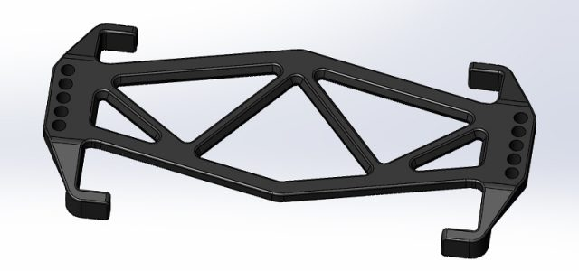 JConcepts B6/B6D Battery Brace For Reedy Lipo LP Shorty