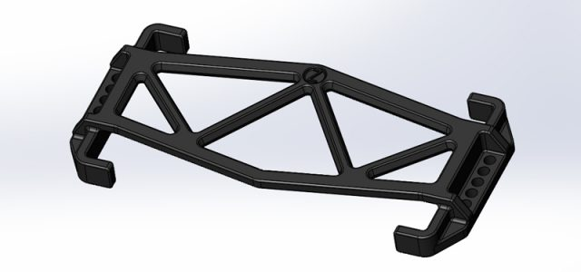 JConcepts Team Associated B6/B6D Battery Brace For Reedy Zapper