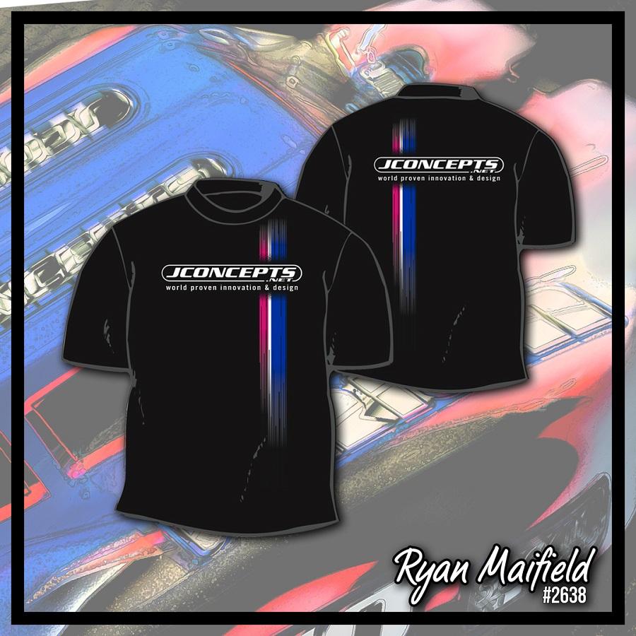 JConcepts Driver Commemorative Racing Stripe T-Shirts (2)