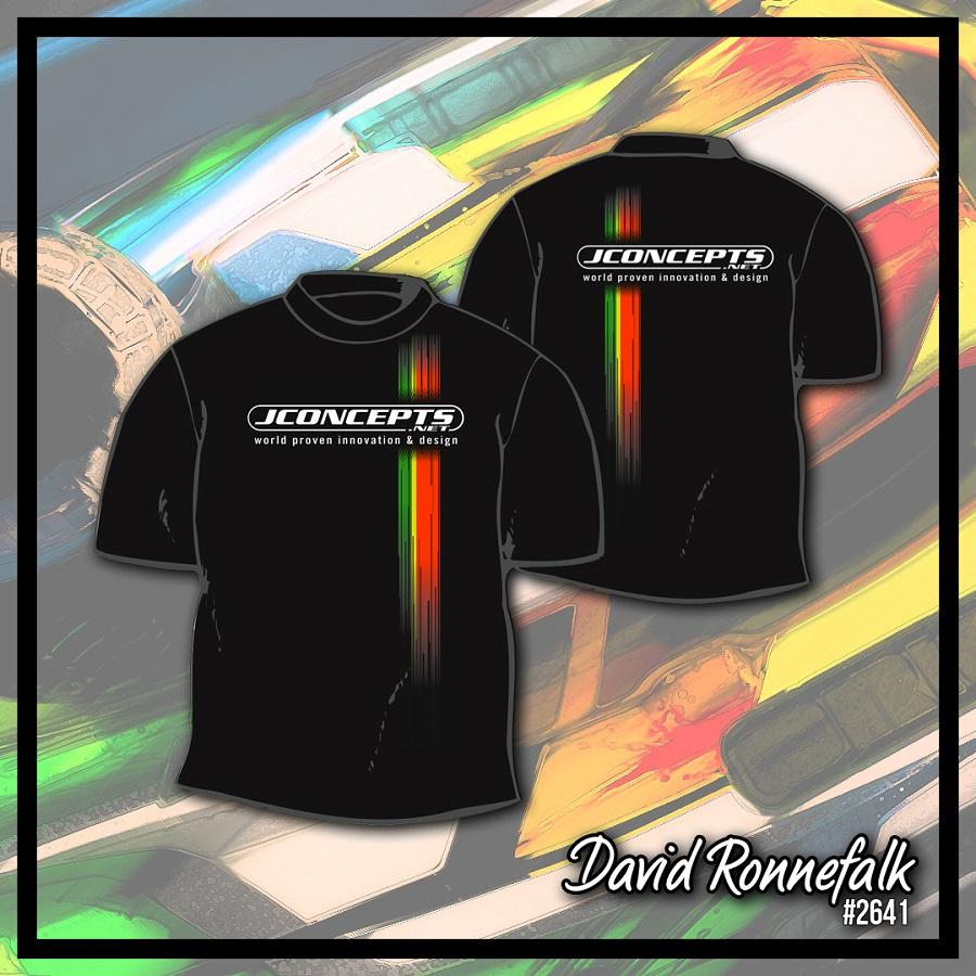 JConcepts Driver Commemorative Racing Stripe T-Shirts (3)