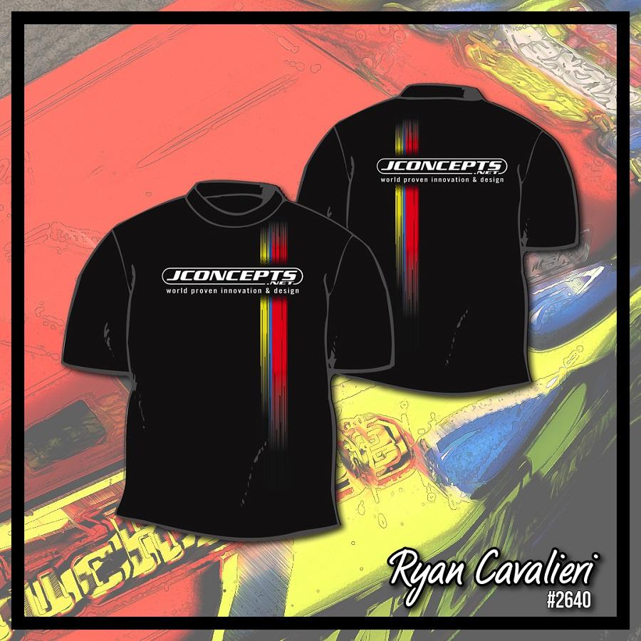 JConcepts Driver Commemorative Racing Stripe T-Shirts (4)