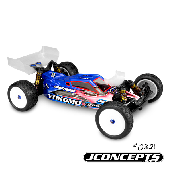JConcepts F2 Body For The Yokomo YZ-2 (2)