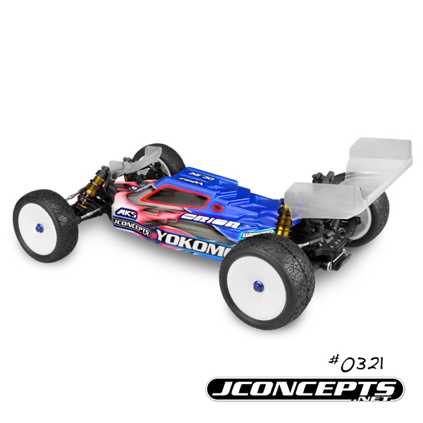 JConcepts F2 Body For The Yokomo YZ-2 (3)