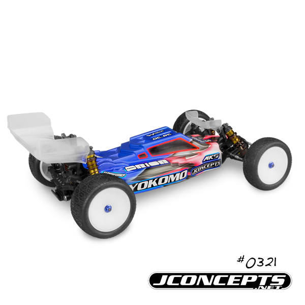 JConcepts F2 Body For The Yokomo YZ-2 (4)